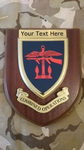 Combined Operations Personalised Military Wall Plaque V1